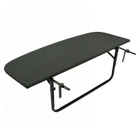stolik ogrodowy podwieszany rattanowy  cm stol skladany