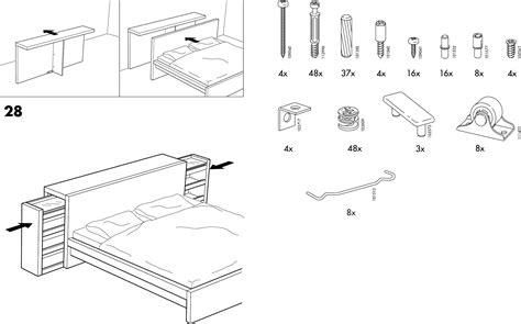 Ikea Bed Gebruiksaanwijzing by Handleiding Ikea Malm Bed Pagina 3 10 Dansk