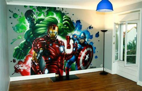 deco chambre garcon super heros