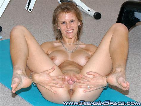 Teens In Space Blonde Girl Molena Has Nice Big Tits But