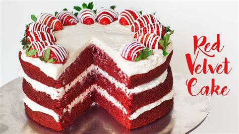 red velvet cake youtube