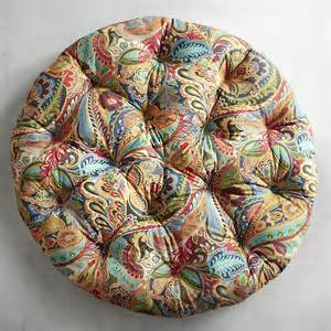 papasan cushion in vibrant paisley pier 1 imports