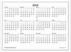 Calendar 2019 32SS Michel Zbinden en