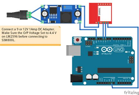 sim800l gsm module with arduino at commands library factoryforward
