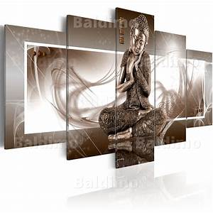 Bilder Xxl Leinwand : leinwand bilder xxl fertig aufgespannt bild buddha braun abstrakt 020113 266 ebay ~ Frokenaadalensverden.com Haus und Dekorationen