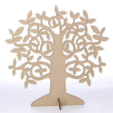 laser cut wood tree centerpiece wood cutouts wood