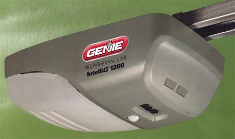 genie door opener genie 1200 garage door opener a plus garage doors