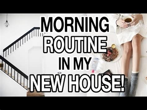 Morning Routine In My New House + Easy Healthy Breakfast