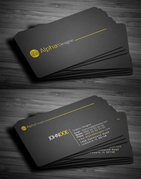 modern business cards design  fresh examples design