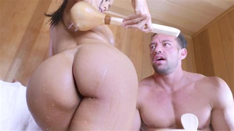 Anal Fuck Creampie At Sauna With Isis Love Isis Love