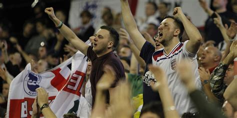 England Fans Are Going Sing Marseillaise Wembley