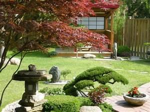 jardins et terrasses jardin japonais zen amenagement idee With idee amenagement jardin zen