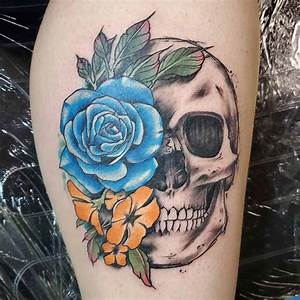 Top 81 Best Skull And Rose Tattoo Ideas