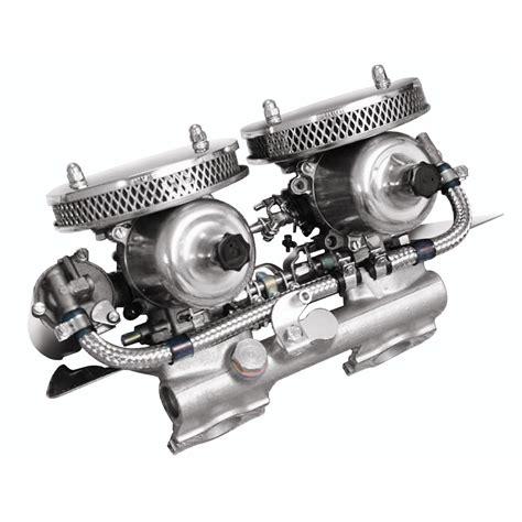 hs twin carburetor kits moss motors