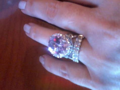 katyelle s padparadscha sapphire engagement ring weddingbee