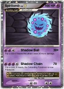 Pokémon Spiritomb 136 136 - Shadow Ball - My Pokemon Card