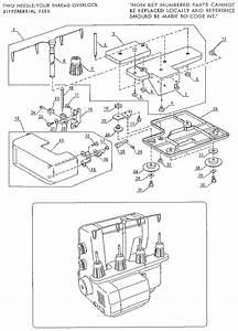 Kenmore Overlock Sewing Machine Parts