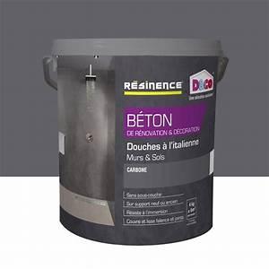 Enduit Beton Exterieur : enduit b ton resinence gris carbone 4 l leroy merlin ~ Mglfilm.com Idées de Décoration