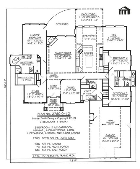 plantation home blueprints plantation house plans stock southern plantation home