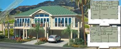 Beach House Design Houses Floor Plan Ideas On Elevated Beach House Plans Coastal Home