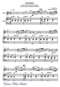 Secret Garden Adagio - song from a secret garden adagio for violin and piano