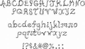 12 Awesome Fonts To Draw Images - Easy Font Alphabet ...