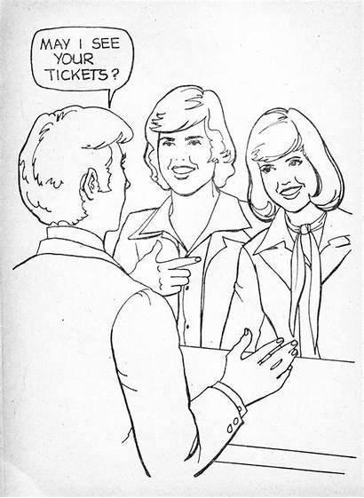 Donny Marie Coloring Osmond 1980s 1977 Scan