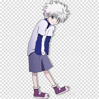 Killua Transparent Zoldyck Clipart Pngio Anime