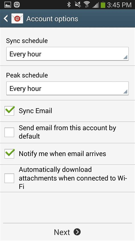 icloud mail on android how to add your icloud email account to your galaxy note 3