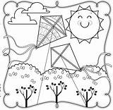 Coloring Contest Spring Addison County Screen Field Independent sketch template