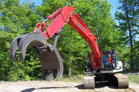 mechanical grapple geith excavator attachments