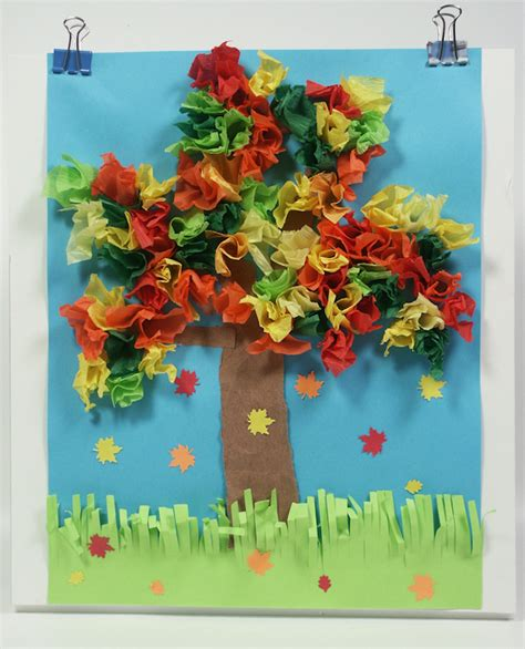 collage work for preschoolers a fall collage craft for tutorial the 326