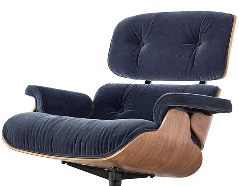 Modern Chair Ottoman by Eames 174 Lounge Chair Ottoman In Mohair Supreme