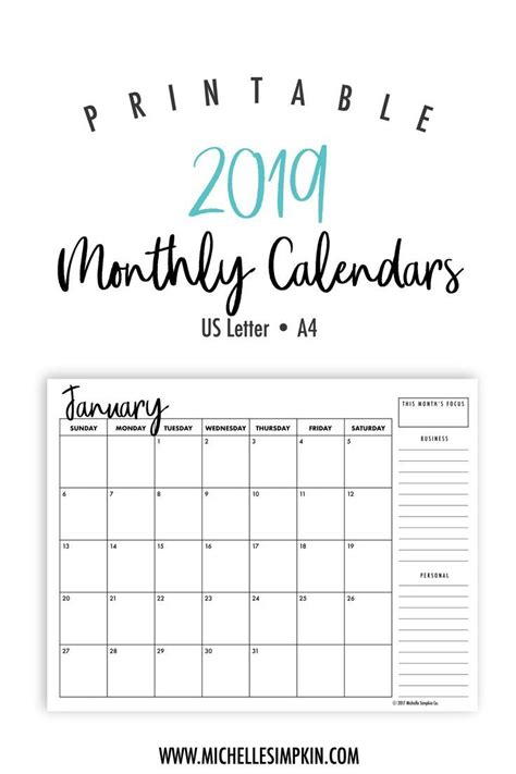 printable calendars plan   year