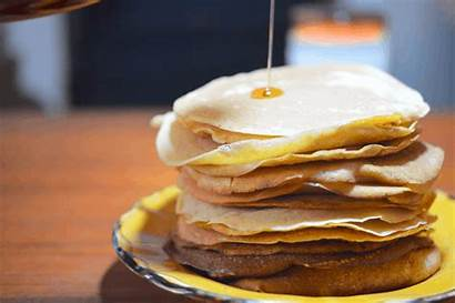 Pancakes Pancake Automne Fluffly Potiron Bonheur Inside