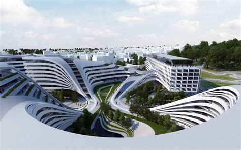 Amazing Of Beautiful Latest Zaha Hadid Architects Doing T