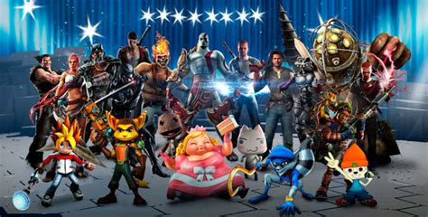 playstation all stars battle royale character list