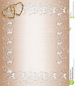Wedding invitation border satin stock illustration for Wedding invitation page borders free download