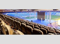 Presidential Box with stage for events Real Madrid CF