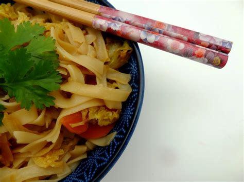 chou cuisine nouilles de riz au chou vert carottes la tendresse en
