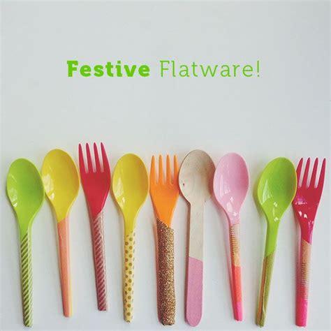 flatware festive susty