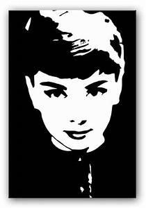 Audrey hepburn canvas, lucille ball pop art audrey hepburn ...