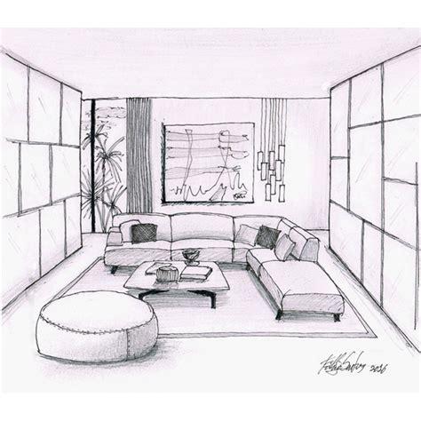 Living Room Sketch  Designer Fabio Santos