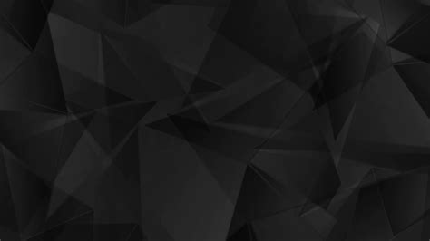 Corporate black geometric polygonal motion background ...