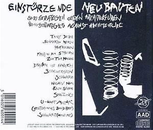From The Archives Einstrzende Neubauten Discography I