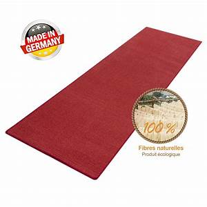 tapis rouge qualite premium chambrecouloirsalon With tapis de couloir rouge