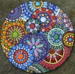 Replacement Plastic Patio Table Tops by Mosaic Stepping Stones On Pinterest Mosaic Pots Mosaic