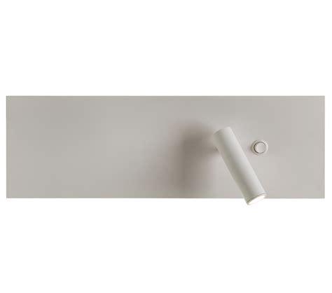 astro edge reader led single switched wall light white