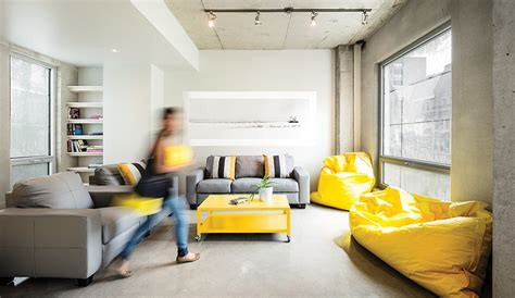A Hip Student Dormitory in Montreal - Azure Magazine