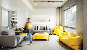 a hip student dormitory in montreal azure magazine With interior decorating school montreal